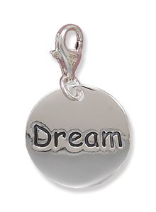 "Polished ""Dream"" Charm with Lobster Clasp(73333)"