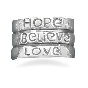 Hope, Believe and Love in the Band(82800)