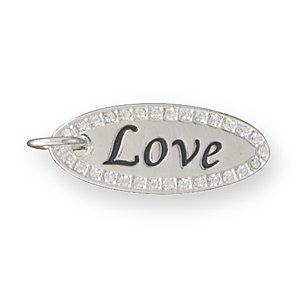 "Reversible ""Love"" Fashion Pendant(W5008)"