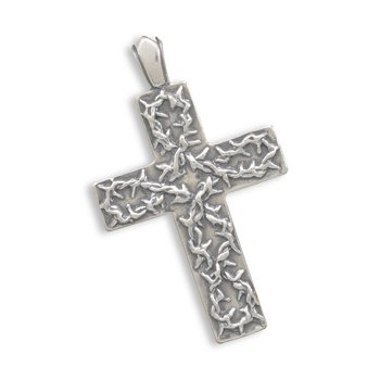 Cross with Thorns Pendant(73345)