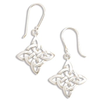 Celtic Style French Wire Earrings(64059)