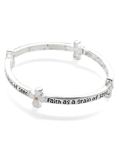 Bible inscribed stretch bracelet(b80901_16HD)