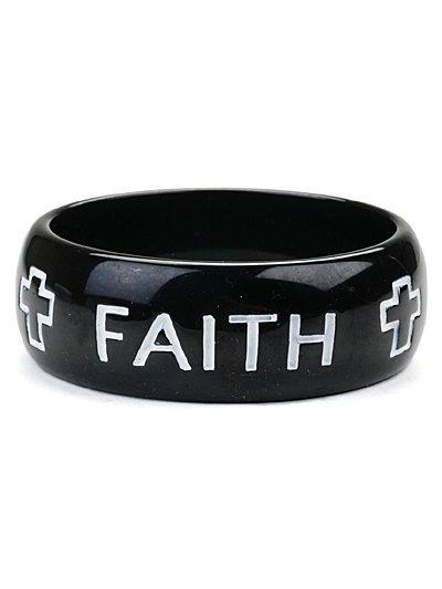 Faith Bracelet(b1011blk_43)