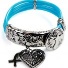 Faith, hope, love bracelet(b206bk_18)
