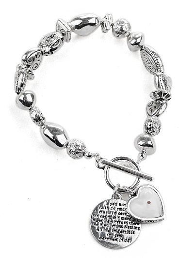 Mustard Seed & heart bracelet(b4451s_37HD)