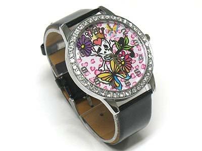 Tattoo background watch(N1573BK-65104)