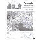 Panasonic CD Stereo System SC-AK58 User Manual