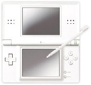Nintendo DS Lite Console (Crystal White)