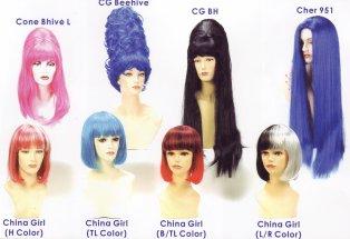 Custom wig collection
