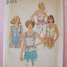 Vintage Simplicity 6464 Camisole Summer Top Pattern