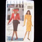 Butterick  5046 Leslie Fay Dress Suit Pattern Long Sleeve Round Neckline