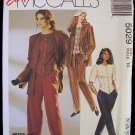 McCalls  5029 Jacket Top Pants Pattern Round Neck Vested Bottom Size 14