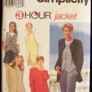 Simplicity  9361 Jackets and Vests Pattern Button Front Casual or Dressy Uncut Size 12-16
