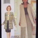 Butterick  3932 Jessica Howard Long Jacket Top Skirt Pants Pattern Size 18-22 Uncut