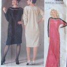 Vogue American Designer  1389 Geoffrey Beene Evening Dress Pattern Retro 80s
