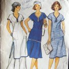 Vintage Vogue  9503 Tunic Top Dress Skirt Pants Pattern Complete Summer Outfit Size 14