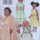 Butterick 3707 Girl's Summer Top And Skirt Dress Pattern Uncut Size 6-8