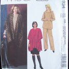 McCall's Pattern 4934 Plus Size Jacket Top Skirt and Pants Uncut 26W-32W