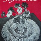 Vintage 1949 Clark's ONT J & P Coats Book No 253 Ruffled Doilies Pattern Book