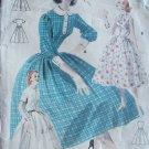 Vintage 50s Butterick  7752 Full Skirt Shirtwaist Dress Patten Size 14