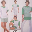 Simplicity  9722 Jiffy Dress Tunic or Top and Pants or Shorts Sewing Pattern Uncut Retro Style