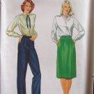 Vintage Butterick 3388 A-line Skirt Straight Leg Pants Pattern Uncut Size 10