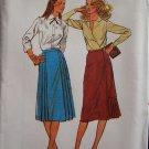 Vintage Butterick  6919 Side Pleat Straight Skirt Pattern Uncut Size 10