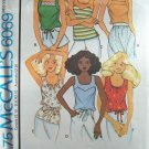 Vintage 70s McCall's 6069 Sleeveless Summer Top Sewing Pattern Uncut Size Small