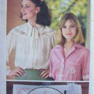 Vintage Butterick 5496 Floral and Alphabet Lettering Embroidery Transfer Pattern Unused