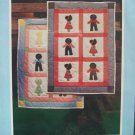 Vintage 1978 Yours Truly 3909 Sunbonnet Crib Quilt and Pillow Pattern Uncut