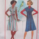Vintage 70's Simplicity 7578 Summer Dress Jumper Pattern Uncut Size 10-12