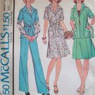 Vintage 70s McCall's 4450 Yoked Jacket Skirt and Pants Pattern Uncut Size 12