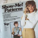 Vintage 70s McCall's 5754 Cowl Neck Pullover Top Pattern Long Sleeve Uncut 8-12