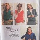 Vintage 70s Simplicity 9075 Cardigan and Vest Pattern Uncut Size 10-14