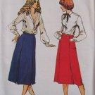 Butterick 6920 A-Line Front Princess Seam Box Pleat Skirt Pattern Uncut Size 14