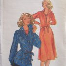 Vintage 70s Butterick 5144 Shirtdress Tunic Top and Belt Pattern Uncut Size 12