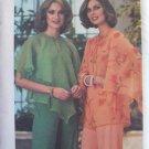 Vintage 70's Butterick 5341 Butterfly Sleeve Blouse Pattern Uncut Size 12-14