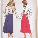 Vintage 70s Butterick 6920 Uncut A-Line Skirt Pattern Princess Seaming Size 12