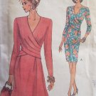 Vogue 8414 Tucked Tapered or A-Line Dress Sewing Pattern Uncut Size 12-16