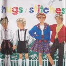 Simplicity 9938 Unisex Child's Pants Short Skirt Shirt And Cardigan Pattern Uncut Size 2-6X