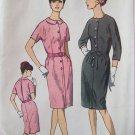 Vintage 60s Simplicity 6282 Kimono Sleeve Dress Pattern Slim Skirt Uncut Size 20 ½ B41