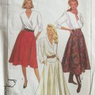 Simplicity 9317 Flared Yoked Top Skirt Pattern Uncut Size 14-18 Three Lengths