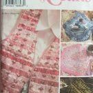 Simplicity 7074 Vest Placemat Pillow Purse and Eyeglass Craft Pattern Uncut Betsy Mazziorn