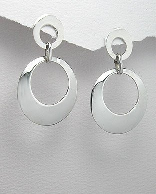 polished silver rounds