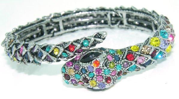 Geniune Swarovski Crystal Snake Bracelet