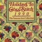 Holidays In Cross Stitch 1990 The Vanessa-Ann Collection Patterns Book