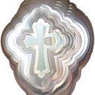 Cross Wind Spinner - silver-zinc