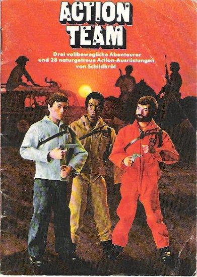 1970s German G.I. Joe Action Team Catalog