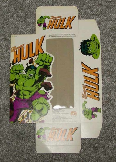 "Mego Original 12"" Incredible Hulk Box from World's Greatest Superheroes"