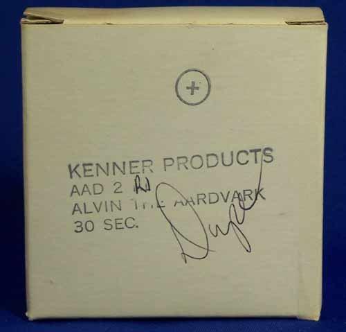 Kenner Alvin the  Aardvark Commercial Original 16mm Film